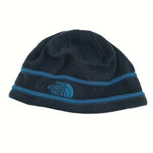 The North Face Childrens Blue Knit Beanie